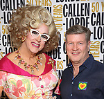 Doris Dear and husband during the GLOW: 50 Years of Callen-Lorde at Union Park on May 31, 2019  in New York City.