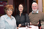 Helen Mulroy, Caroline Kavanagh and Jarlath Cunnane at the Table Quiz in Foleys...Photo NEWSFILE/Jenny Matthews.(Photo credit should read Jenny Matthews/NEWSFILE)....This Picture has been sent you under the condtions enclosed by:.Newsfile Ltd..The Studio,.Millmount Abbey,.Drogheda,.Co Meath..Ireland..Tel: +353(0)41-9871240.Fax: +353(0)41-9871260.GSM: +353(0)86-2500958.email: pictures@newsfile.ie.www.newsfile.ie.FTP: 193.120.102.198.