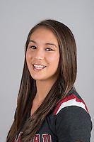 STANFORD, CA - Carinne Gale of Stanford University Women's Gymnastics.