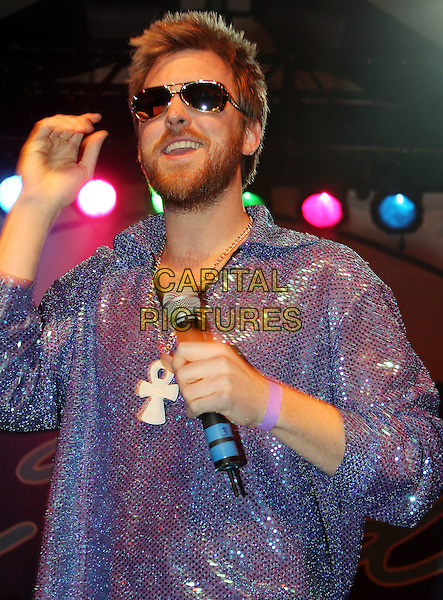 CHARLES KELLEY.Blair Garner's After Midnite Disco Ball during Country Radio Seminar (CRS), Nashville, Tennessee, USA, .07 March 2008..half length concert gig on stage .CAP/ADM/RR.©Randi Radclif/Admedia/Capital Pictures