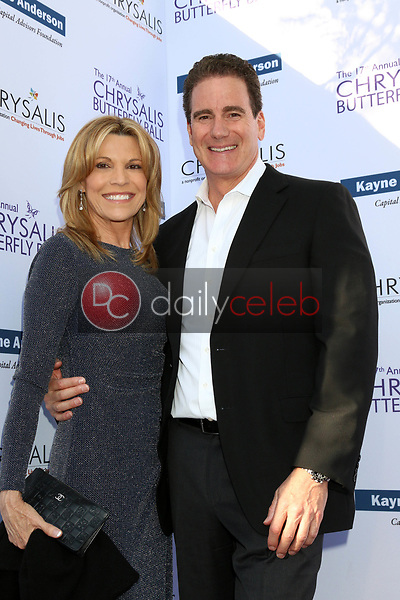 Vanna White, Sierra Swartz<br /> at the 17th Annual Chrysalis Butterfly Ball, Private Residence, Los Angeles, CA 06-02-18<br /> David Edwards/DailyCeleb.com 818-249-4998