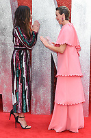"Sandra Bullock and Sarah Paulson<br /> arriving for the ""Ocean's 8"" European premiere at the Cineworld Leicester Square, London<br /> <br /> ©Ash Knotek  D3408  13/06/2018"