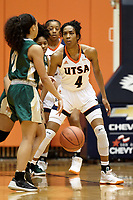SAN ANTONIO, TX - MARCH 3, 2018: The University of Texas at San Antonio Roadrunners fall to the University of Alabama Birmingham Blazers 74-66 at the UTSA Convocation Center. (Photo by Jeff Huehn)