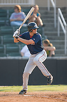 Second baseman Zachary Penprase (24) of the Greenville Drive at bat at Fieldcrest Cannon Stadium in Kannapolis, NC, Sunday August 10, 2008. (Photo by Brian Westerholt / Four Seam Images)