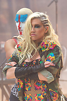 "NEW YORK, NY - NOVEMBER 20: Ke$ha performs On NBC's ""The Today Show"" Thanksgiving Week Of Concerts on The Plaza at Rockefeller Center in New York City on November 20, 2012. Credit: mpi44/MediaPunch Inc. /NortePhoto"