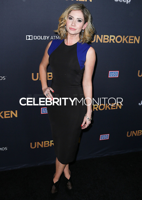 HOLLYWOOD, LOS ANGELES, CA, USA - DECEMBER 15: Ashley Jones arrives at the Los Angeles Premiere Of Universal Pictures' 'Unbroken' held at the Dolby Theatre on December 15, 2014 in Hollywood, Los Angeles, California, United States. (Photo by Xavier Collin/Celebrity Monitor)