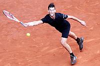 Dominic Thiem, Austria, during Madrid Open Tennis 2018 match. May 11, 2018.(ALTERPHOTOS/Acero) /NORTEPHOTOMEXICO