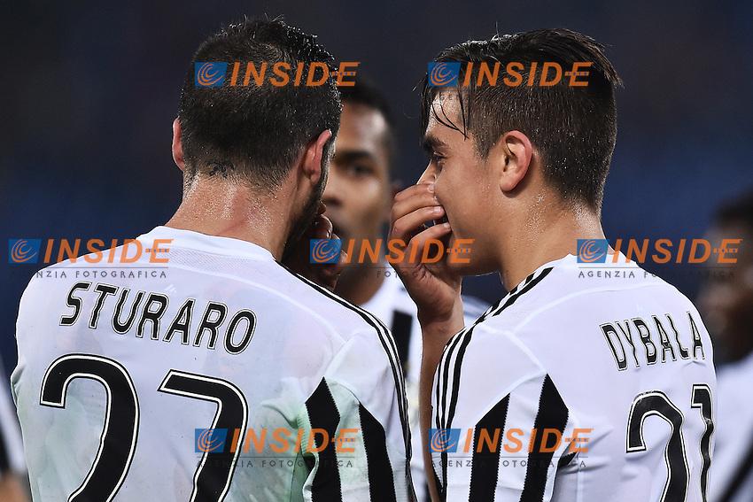 Stefano Sturaro, Paulo Dybala Juventus <br /> Roma 04-12-2015 Stadio Olimpico Football Calcio 2015/2016 Serie A Lazio - Juventus Foto Andrea Staccioli / Insidefoto