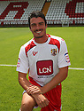 Ronnie Henry of Stevenage at the Stevenage FC team photo shoot at The Lamex Stadium, Broadhall Way, Stevenage on Saturday, 24th July, 2010.© Kevin Coleman 2010