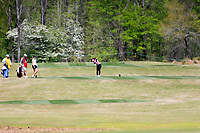 Jaravee Boonchant (THA) during the second round of the Augusta National Womans Amateur 2019, Champions Retreat, Augusta, Georgia, USA. 04/04/2019.<br /> Picture Fran Caffrey / Golffile.ie<br /> <br /> All photo usage must carry mandatory copyright credit (&copy; Golffile | Fran Caffrey)