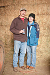 Families gather after Christmas at the Cuneo Ranch in California's Mother Lode. Mike and Shannon.