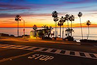 T-Street Bridge Looking Out to the Ocean in San Clemente California