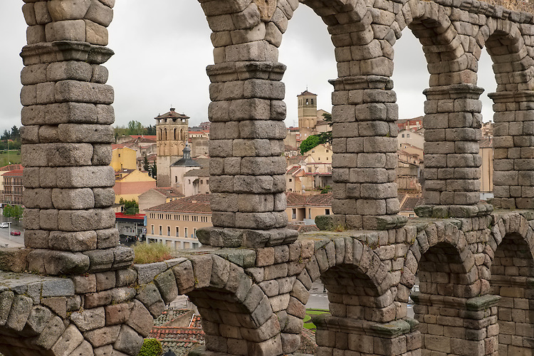 Functioning to the late 19th century, this 2000 year-old Roman aqueduct carried water to the city of Segovia.