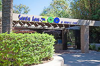 Entrance to the Santa Ana Zoo in Prentice Park