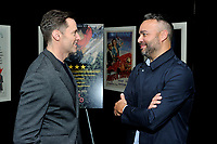 "NEW YORK - DECEMBER 5: L-R: Actor Hugh Jackman and producer Evan Hayes attend a screening of National Geographic Documentary Films ""Free Solo"" at the Walter Reade Theater on December 5, 2018 in New York City. (Photo by Stephen Smith/National Geographic/PictureGroup)"