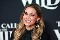 HOLLYWOOD, CA - FEBRUARY 13; Gaby Cam at The Call Of The Wild World Premiere on February 13, 2020 at El Capitan Theater in Hollywood, California. Credit: Tony Forte/MediaPunch