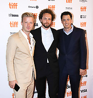 "TORONTO, ONTARIO - SEPTEMBER 06: Ben Pugh and Rory Aitken attend ""The Friend"" premiere during the 2019 Toronto International Film Festival at Princess of Wales Theatre on September 06, 2019 in Toronto, Canada. <br /> CAP/MPI/IS/PICJER<br /> ©PICJER/IS/MPI/Capital Pictures"
