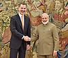 King Felipe Meets Indian PM Modi