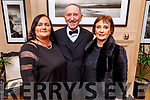 Noreen Rusk, Billy and Sheila Ryle attending the Scoil Eoin Valentine's Ball Fundraiser in the Ballygarry House Hotel on Friday night.