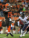 CLEVELAND, OH - SEPTEMBER 1, 2016: Quarterback Robert Griffin III #10 of the Cleveland Browns throws a pass in the first quarter of a game on September 1, 2016 against the Chicago Bears at FirstEnergy Stadium in Cleveland, Ohio. Chicago won 21-7. (Photo by: 2016 Nick Cammett/Diamond Images)  *** Local Caption *** Robert Griffin III