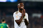 Vinicius Junior of Real Madrid during La Liga match between Real Madrid and Real Sociedad at Santiago Bernabeu Stadium in Madrid, Spain. February 06, 2020. (ALTERPHOTOS/A. Perez Meca)