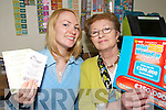 WINNING TICKET: Phyllis and Margaret Kelliher from Ardfert Post Office who sold a 1 million euros winning lottery ticket   Copyright Kerry's Eye 2008