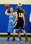 12-17-14, Skyline vs Huron girl's JV basketball