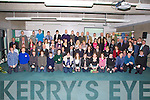 STUDENTS: Students from Kerry Schools who were presented with Kerry Education Services Awards at a special ceremony in the ITT North Campus Tralee on Friday night. ................................. ....