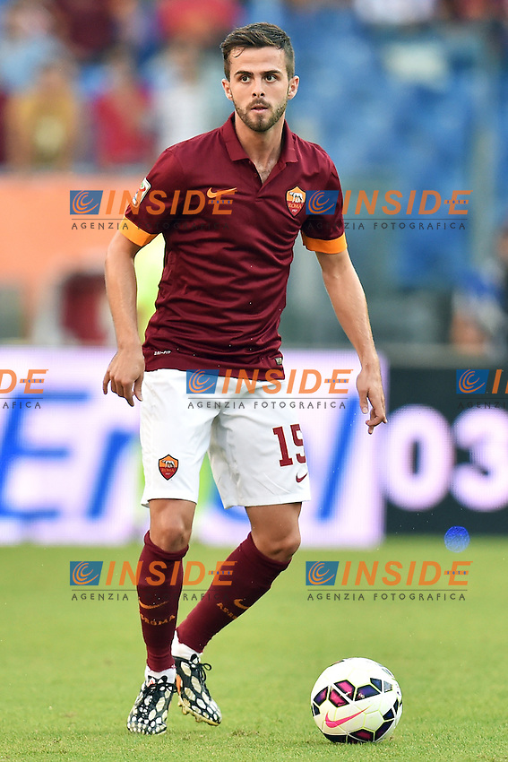 Miralem Pjanic Roma <br /> Roma 27-09-2014 Stadio Olimpico, Football Calcio Serie A AS Roma - Hellas Verona. Foto Andrea Staccioli / Insidefoto