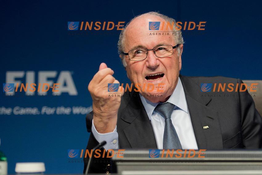 Sepp Blatter.21.03.2013 Zurigo .Comitato Esecutivo FIFA .Foto Andy Mueller/freshfocus/Insidefoto..ITALY ONLY