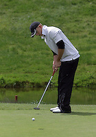 20 May, 2010:  Middle Tennessee State's Hunter Green putts his shot on hole nine of the NCAA Division I Regionals tournament Thursday at Gold Mountain Golf Course in Bremerton, WA.