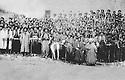 Iran 1946 <br /> Tribe's men, supporters of the Republic of Mahabad <br /> Iran 1946 <br /> Hommes de tribu , partisans de la Republique de Mahabad