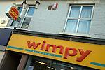 Wimpy restaurant sign, Felixstowe