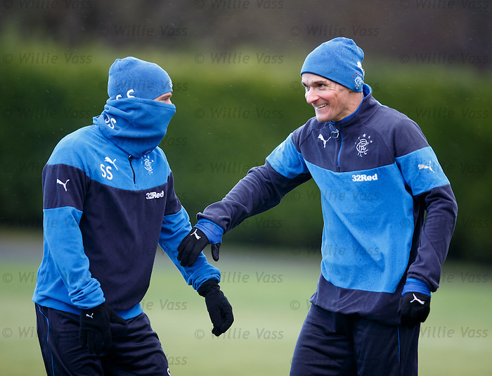 Stevie Smith and Lee McCulloch