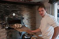 Europe/France/Rhône-Alpes/74/Haute-Savoie/Megève: Christophe Lucet, boulanger de France, Le Mazot du Boulanger,