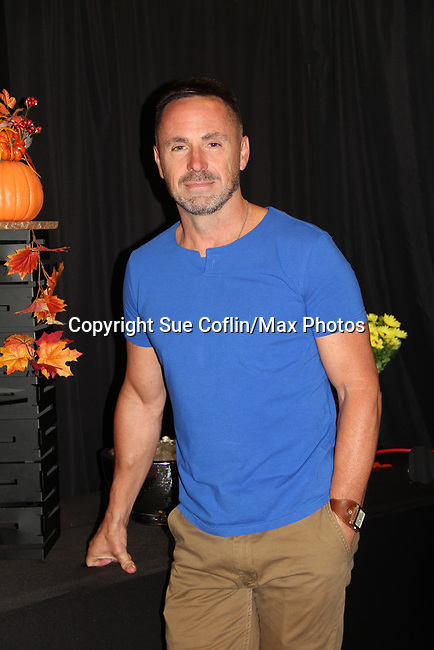 """General Hospital's actor William Debry """"Julian Jerome"""" - on October 5, 2019 at the Hollywood Casino, Columbus, Ohio with a Q & A and a VIP meet and greet. (Photo by Sue Coflin/Max Photo)"""
