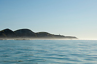 Kaikoura Peninsula seen from Dolphin Encounters boat