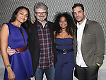 Karen Olivo, John Ellison Conlee, Rebecca Naomi Jones and Will Swenson attending the Opening Night Performance After Party for the Manhattan Theatre Club's 'Murder Ballad' at Suite 55 in New York City on 11/15/2012