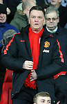 Louis van Gaal manager of Manchester United - FA Cup Fourth Round replay - Manchester Utd  vs Cambridge Utd - Old Trafford Stadium  - Manchester - England - 03rd February 2015 - Picture Simon Bellis/Sportimage