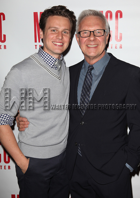 Jonathan Groff & Walter Bobbie.attending the 'MISCAST 2012' MCC Theatre's Annual Musical Spectacular at The Hammerstein Ballroom in New York City on 3/26/2012. © Walter McBride / WM Photography