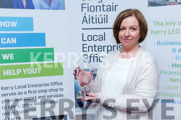 Kerry Local Enterprise Awards held at Manor West Hotel on Friday over all  winner was  Antoinette Butler of  Irish Host Family