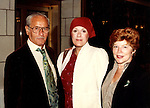 Eli Wallach with wife Anne Jackson and Tammy Grimes Attending a Broadway Show in New York City.<br /> September 1980