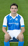 St Johnstone FC Season 2017-18 Photocall<br />Aaron Comrie<br />Picture by Graeme Hart.<br />Copyright Perthshire Picture Agency<br />Tel: 01738 623350  Mobile: 07990 594431