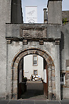 Entrance to the Orkney Museum, Kirkwall, Orkney Islands, Scotland