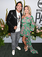 "09 July 2019 - Los Angeles, California - Johnny Damon, Michelle Mangan. ESPN ""The ESPYS Official Pre-Party"" held at the Hotel Figueroa. Photo Credit: Billy Bennight/AdMedia"