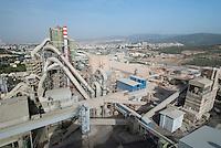 TURKEY, Izmir, cement factory Baticim / TUERKEI, Izmir, Zementfabrik Baticim