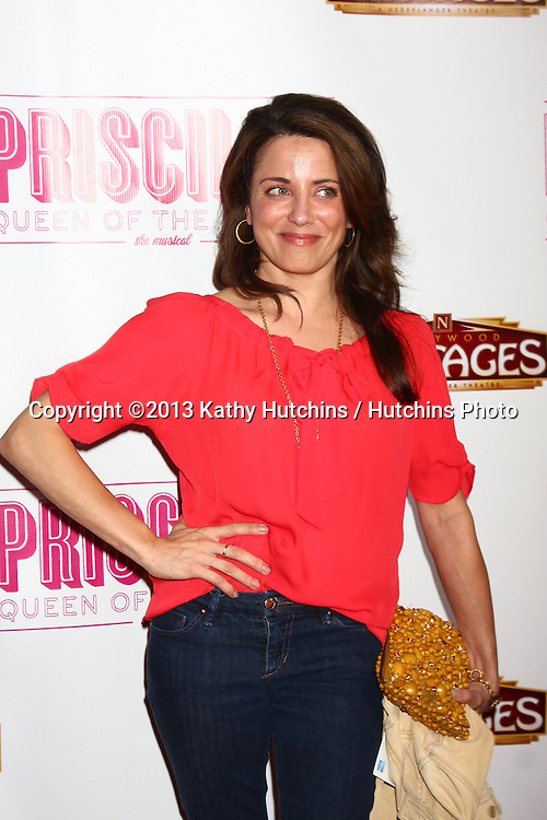 "LOS ANGELES - MAY 29:  Alanna Ubach arrives at  the ""Priscilla Queen of the Desert"" Play Opening at the Pantages Theater on May 29, 2013 in Los Angeles, CA"