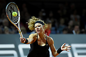 28th April 2017, Stuttgart, Germany; Porsche Tennis Grand Prix Stuttgart; Karolina Pliskova (CZE) versus Laura Siegemund