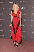 LOS ANGELES, CA - NOVEMBER 04: Lola Fruchtmann at the 2017 LACMA Art + Film Gala Honoring Mark Bradford And George Lucas at LACMA on November 4, 2017 in Los Angeles, California. Credit: David Edwards/MediaPunch /NortePhoto.com
