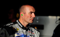 Aug 30, 2008; Fontana, CA, USA; NASCAR Sprint Cup Series driver Marcos Ambrose during practice for the Pepsi 500 at Auto Club Speedway. Mandatory Credit: Mark J. Rebilas-